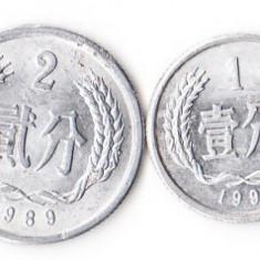 CHINA 1 & 2 FEN