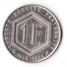 FRANTA 1 FRANC 1988