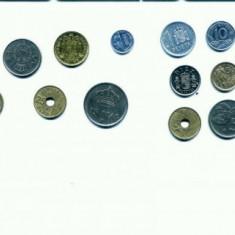 Minicolectie de monede SPANIA(72 bucati)