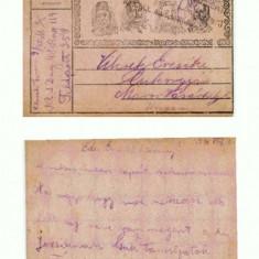 CP156-19 Maros-Vasarhely(Targu Mures) -ocupatie-circulata1916