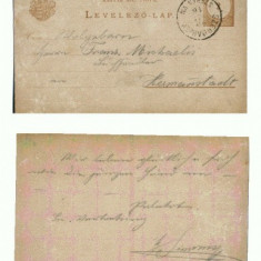 CP156-53 Szerdahely (Miercurea Sibiului) -circulata1916