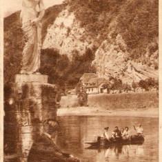 R2348 Calimanesti Barca pe Olt editura de stat necirculat - Carte Postala Oltenia dupa 1918