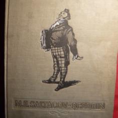 M.E.SALTACOV-SCEDRIN - OPERE ALESE-ilustratii color-1954 - Carte de lux
