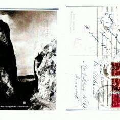 CP158-70 Bucegi -Cheile Tatarului -circulata1943 -cenzurata