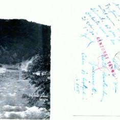 CP158-84 Defileul Jiului -Gorjiu -circulata 1942 -cenzurata