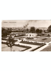 R3421 Campina Parcul Pionierilor circulat 1959 RPR