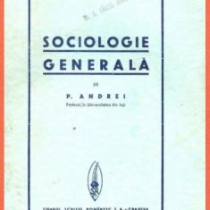 Petre Andrei, Sociologie generala, 1936