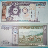 MONGOLIA  2008  - 100 TUGRIK  -  UNC