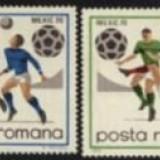 Romania 1970 - CM FOTBAL MEXIC, serie nestampilata G18 - Timbre Romania, Sport