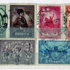 1929 L.P. 82 Unirea Transilvaniei stampilat - Timbre Romania