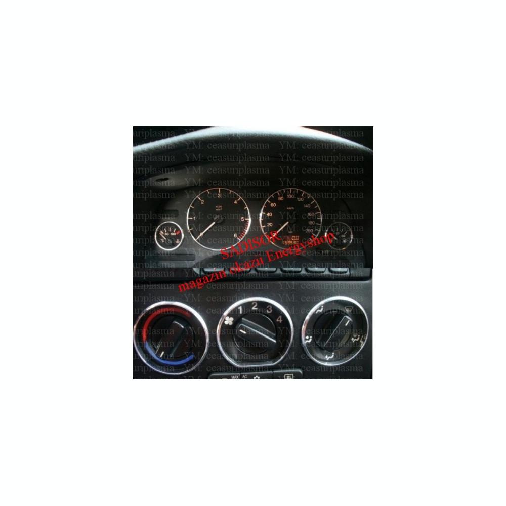 vânzarea de încălțăminte pret de fabrica frumuseţe Inele cromate bord + reglaj ventilatie, din aluminiu Astra G ...