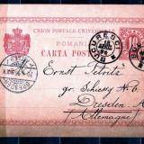Carte Postala 18.04.1896