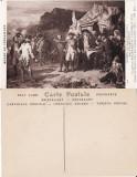Carte postala militara 14-Razboiul de independenta SUA-generalul Washington, Necirculata, Fotografie