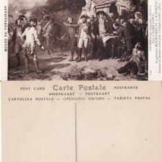 Carte postala militara 14-Razboiul de independenta SUA-generalul Washington