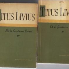 titus livius - de la fundarea romei