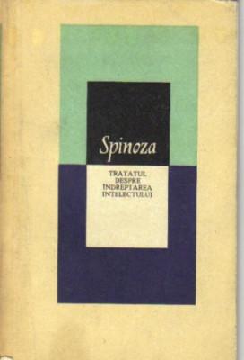 spinoza - tratatul despre indreptarea intelectului foto