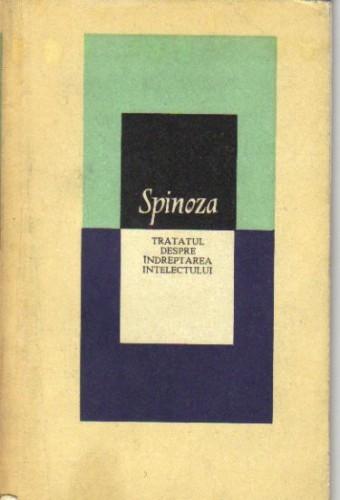 spinoza - tratatul despre indreptarea intelectului