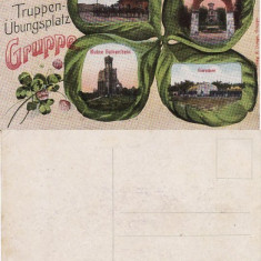 Carte postala militara -Germania- Baraci, Regimente,razboi