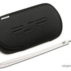 Husa PSP din NEOPREN - BLACK EDITION + CADOU - COMPATIBILA CU PSP 1000 2000 3000 - FAT + SLIM SERIES - BLACK SERIES