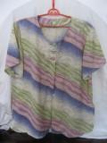 Bluza dama vara, Maneca scurta, Casual, Poliester