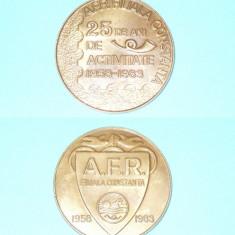PLACHETA ASOCIATIA FILATELICA FILIALA CONSTANTA - Medalii Romania