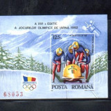 ROMANIA-1992 JO ALBERTVILLE COLITA NEDANTELATA LP 1276 - Timbre Romania