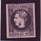 1867 L.P. 20c Favorit Tip II conditie ** - Timbre Romania