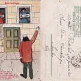 Carte postala comica  - tema umoristica