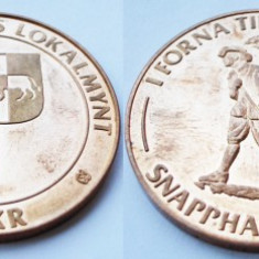 MEDALIE VANATOARE SUEDIA 1979 10 KR **, Europa