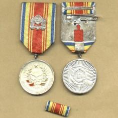 MEDALIA 25 DE ANI DE LA PROCLAMAREA REPUBLICII - Medalii Romania