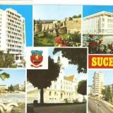 S404 SUCEAVA Hotel Bucovina CIRCULAT - Carte Postala Moldova dupa 1918