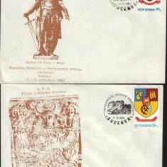 Intreguri postale 1980-Permanente istorice romanesti