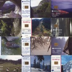 Romania- Cartele telefonice VI - lot colectie