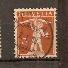 Timbre Elvetia 1909