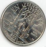 25 Cents 2001 VERMONT ( P )