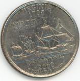 25 Cents VIRGINIA 2000 ( P )