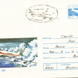 AA Aerofilatelie avion Boeing 707 ziua aviatiei 19.06.1983