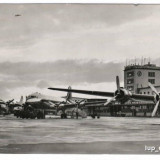 Ilustrata aeroport 1958 FRANKFURT