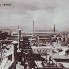 R-5947 Turda Peisaj Industrial Circulata - Carte Postala Transilvania dupa 1918