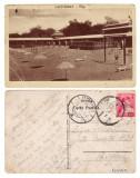 ROMANIA LACU SARAT - PLAJA 1930 circulata **