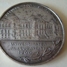 Placheta CENTENARUL UNIVERSITATII Al.I.Cuza IASI