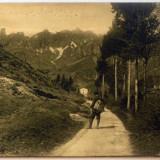 Peisaj de munte. Italia.