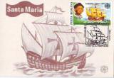 M279 ILUSTRATA MAXIMA Corabia Santa Maria CIRCULAT 1992