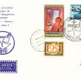 AA Aerofilatelie ,zbor special Budapesta-Havana
