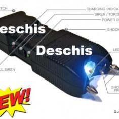 Electrosoc 3 in 1 cu Sirena si Lanterna 300000 Volti