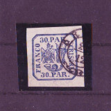 1864 L.P. 13 Parale 30 stampilat - Timbre Romania