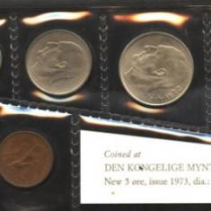 Norvegia set monetarie 1973 UNC