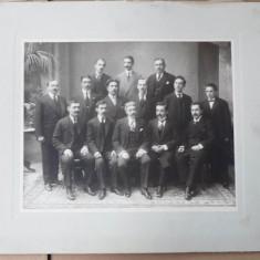 Liceul National Iasi, promotia 1902, 10 ani de la absolvire - Fotografie, Portrete, Romania 1900 - 1950
