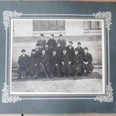 Liceul National Iasi, 1912, fosti absolventi, datata pe verso - Fotografie, Portrete, Romania 1900 - 1950