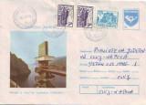 D-715 Intreg Postal barajul si lacul de acumulare Vidraru